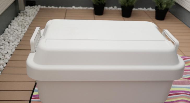 無印良品のポリプロピレン頑丈収納ボックス