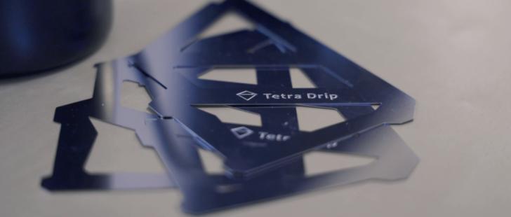 組み立て前のTetra Drip(テトラドリップ)